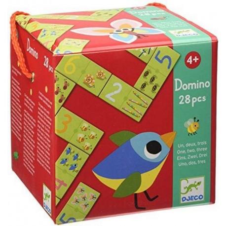 Djeco Domino Een Twee Drie