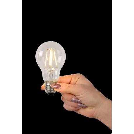 LED BULB - Filament lamp - Ø 6 cm - LED Dimb. - E27 - 1x5W 2700K - Transparant