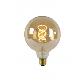 LED Bulb - Filament lamp - Ø 12,5 cm - LED Dimb. - E27 - 1x5W 2200K - Amber