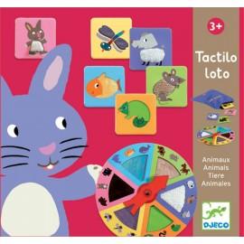 Djeco Tastspel Tactilo Loto Dieren