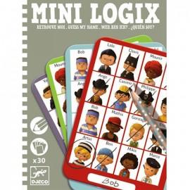 Djeco Mini Logix Wie is Het Jongens