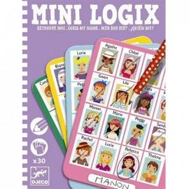 Djeco Mini Logix Wie is Het Meisjes
