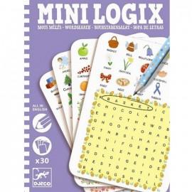 Djeco Mini Logix Engelse Woordenzoeker