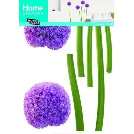 Muursticker Allium Paars