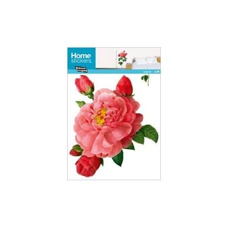 Muursticker Botanische Roos