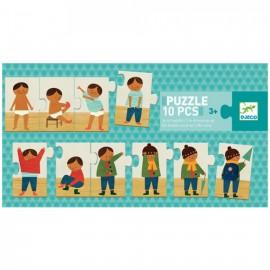 Djeco Puzzel Aankleden 10st