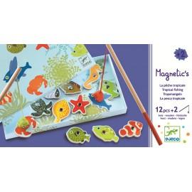Djeco Magnetisch Visspel Tropische Vissen