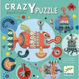 Djeco Crazy Puzzel Aqua'zules