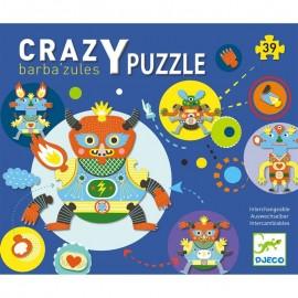 Djeco Crazy Puzzel Barba'zules