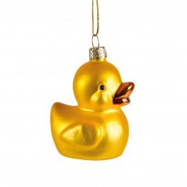 Kerstbal Lucky Ducky
