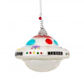 Kerstbal Glitter Ufo