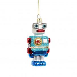 Kerstbal Ricky Robot