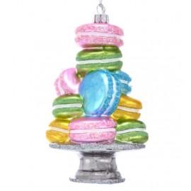 Kerstbal Gestapelde Macarons