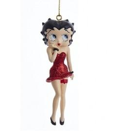 Kerstbal Betty Boop Rood