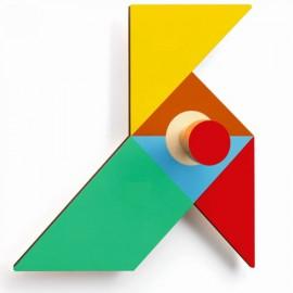 Djeco Houten Kapstok Origami