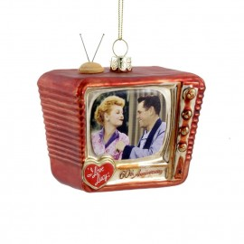 Kerstbal Retro TV I Love Lucy