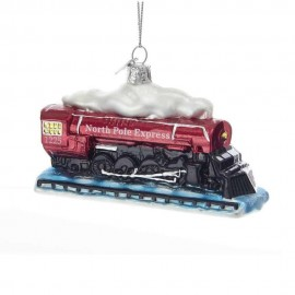 Kerstbal Locomotief