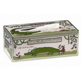 Tissueblik Larmes de crocodile  Derriere La Porte