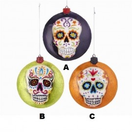 Kerstbal Day of the Dead Disc