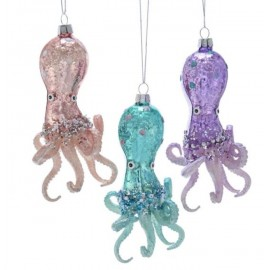 Kerstbal Octopus