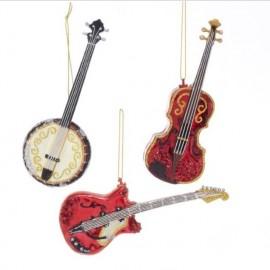 Kerstbal Gitaar Banjo Viool