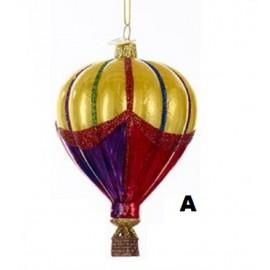 Kerstbal Heteluchtballon