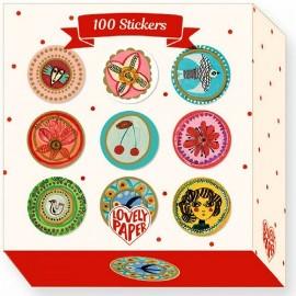 Djeco 100 Stickers Aurélia