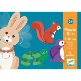 Djeco Duo Puzzel  Articulo Dieren