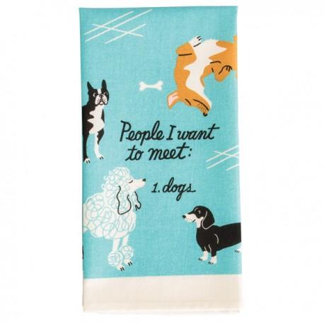 Theedoek People I Want To Meet Dogs