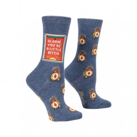Hippe Dames Sokken-Alarm Bitch