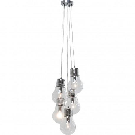 Hanglamp 5 Lichts Bundel Gloeilampen