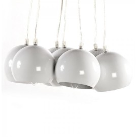 Design Hanglamp Bundel 7 Witte Bollen