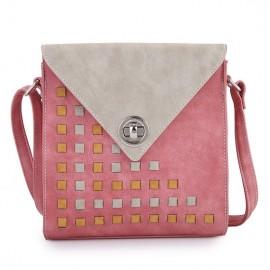 Hi Di Hi Schoudertas Ally roze-beige