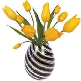 Raamstickers Tulpen geel