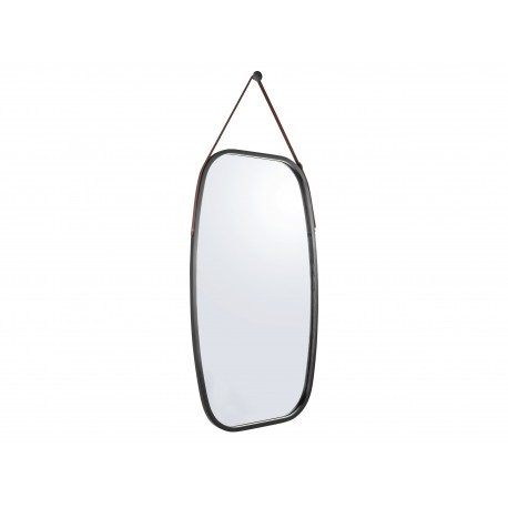 Bamboe Spiegel Idyllic Zwart Large