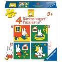 Nijntje Puzzels 6-9-12-16 stukjes
