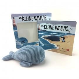 De Kleine Walvis Boek en Knuffel