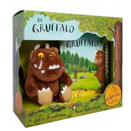De Gruffalo boek en knuffel