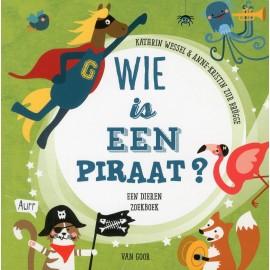 Wie is een piraat? Een dieren zoekboek
