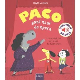 Paco gaat naar de opera Geluidenboekje
