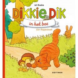Dikkie Dik In het bos. Flapjesboek