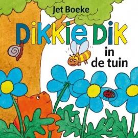 Dikkie Dik In de tuin. Flapjesboek