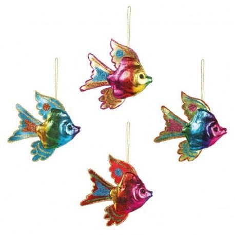 Set van 4 Regenboog Vissen