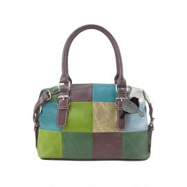 Noi Noi Hand-Schoudertas Chipper Multicolor Groen