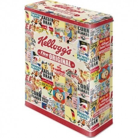 Retro Blik Kellogs The Original