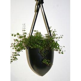 Hangpot Cone 1 Metal Grijs