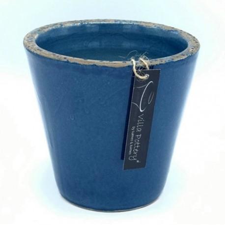 Bloempot XL Bastonge Blauw