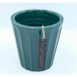 Bloempot Henry Blauw-Groen L