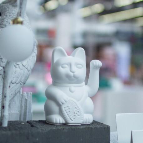 Lucky Cat- Zwaaiende Kat Wit