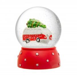 Sneeuwbol Volkswagenbus